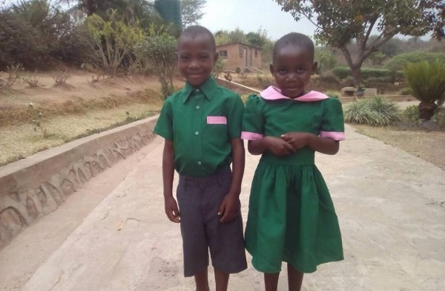 Yamikani and Shakira who are in year 1 & 2