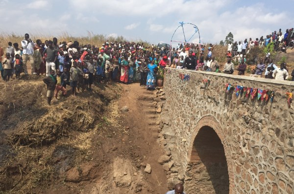 The bridge to Kapeya is complete.